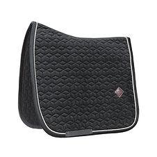Tapis de Selle Dressage Velvet Noir - Kentucky Horsewear