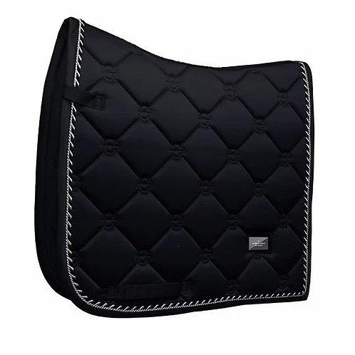Tapis de selle dressage Equestrian Stockholm Black Edition
