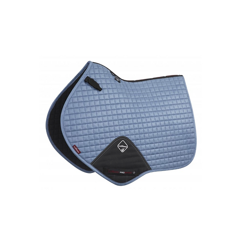 TAPIS DE SELLE SUEDE CLOSE CONTACT ICE BLUE - LEMIEUX