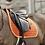 TAPIS DE SELLE VELVET ORANGE - KENTUCKY HORSEWEAR