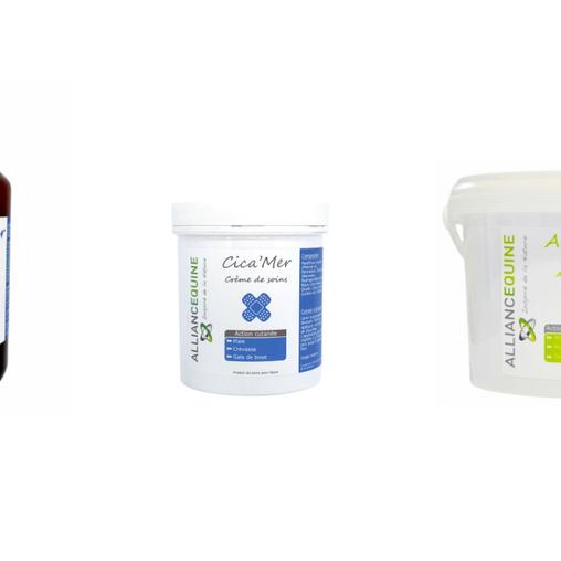 Les produits de soins Alliance Équine maintenant disponibles sur demivolte.fr