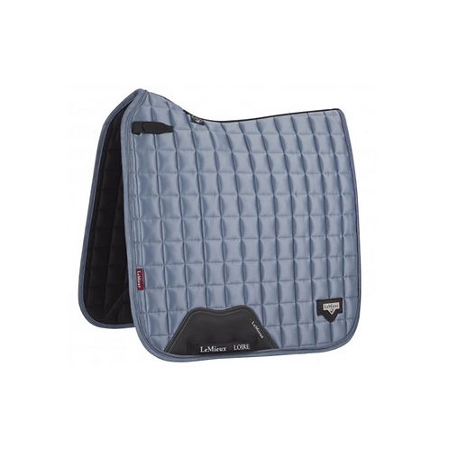 LEMIEUX TAPIS DE SELLE CHEVAL LOIRE CLASSIC DRESSAGE SQUARE ICE BLUE