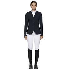 Veste de Concours Tech Knit Zip pour Femme Noir - Cavalleria Toscana