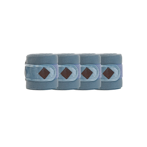 bandes de polo Velvet Kentucky Horsewear bleu clair