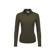T-Shirt Base Layer Manches Longues Oak Green - LeMieux
