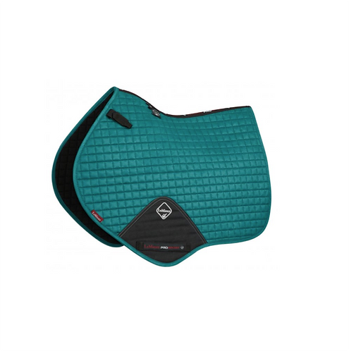 TAPIS DE SELLE SUEDE CLOSE CONTACT PEACOCK - LEMIEUX