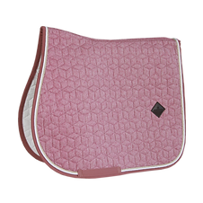 TAPIS DE SELLE LAINE ROSE - KENTUCKY HORSEWEAR