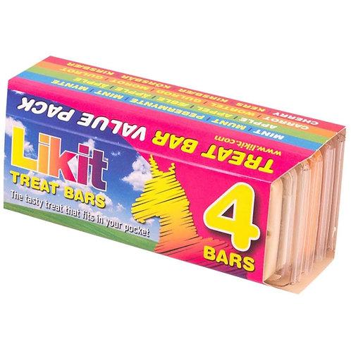 LIKIT - PACK DE 4 BARRES DE FRIANDISES