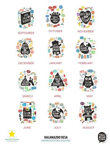 Monthly Themes Calendar