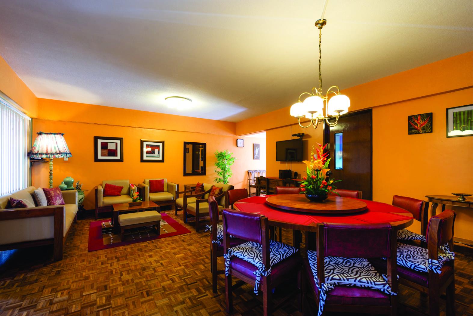 Baguio Transient Condo Dining