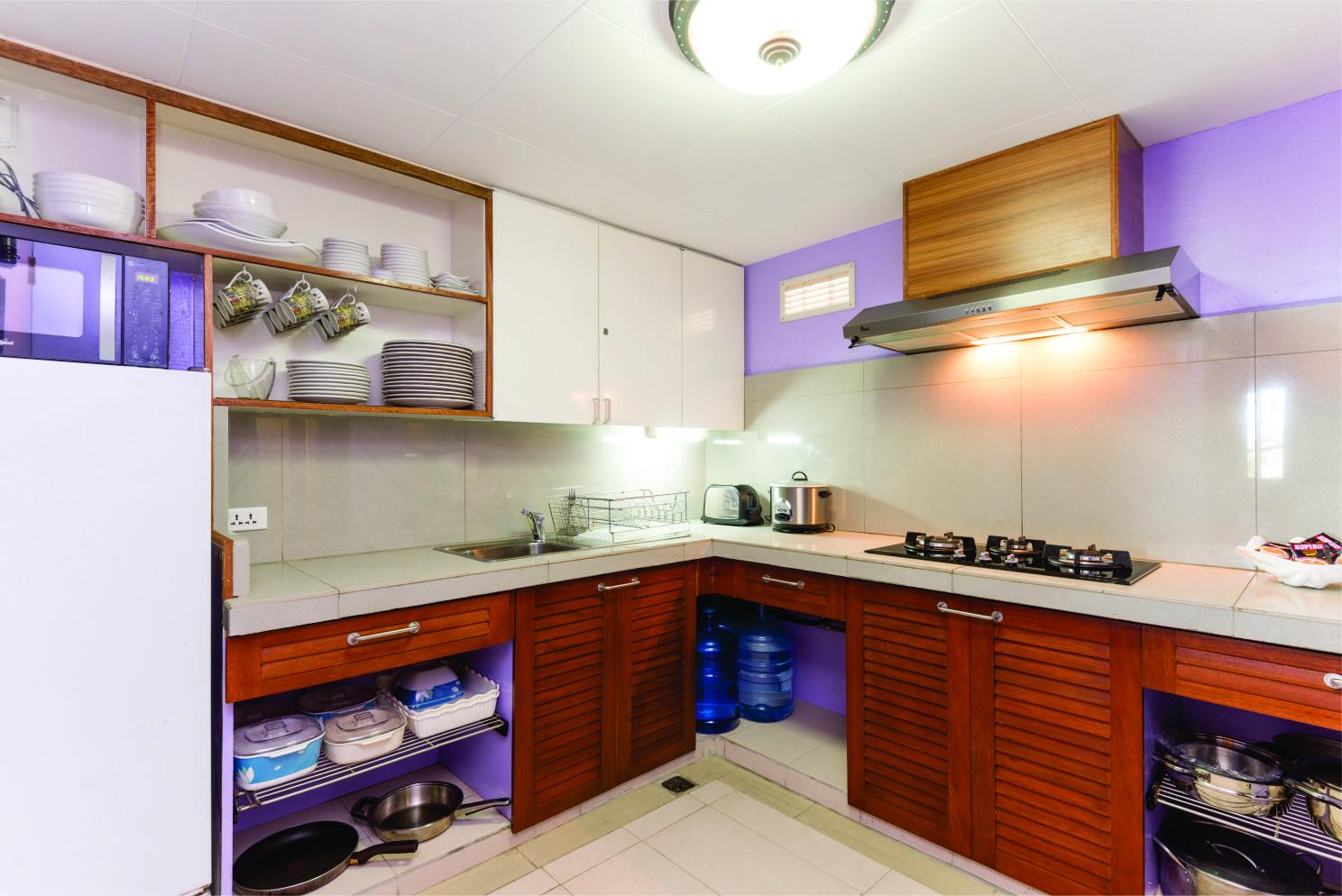 Baguio Transient Condo Kitchen