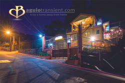 BAGUIO TRANSIENT NIGHT WITH LOGO