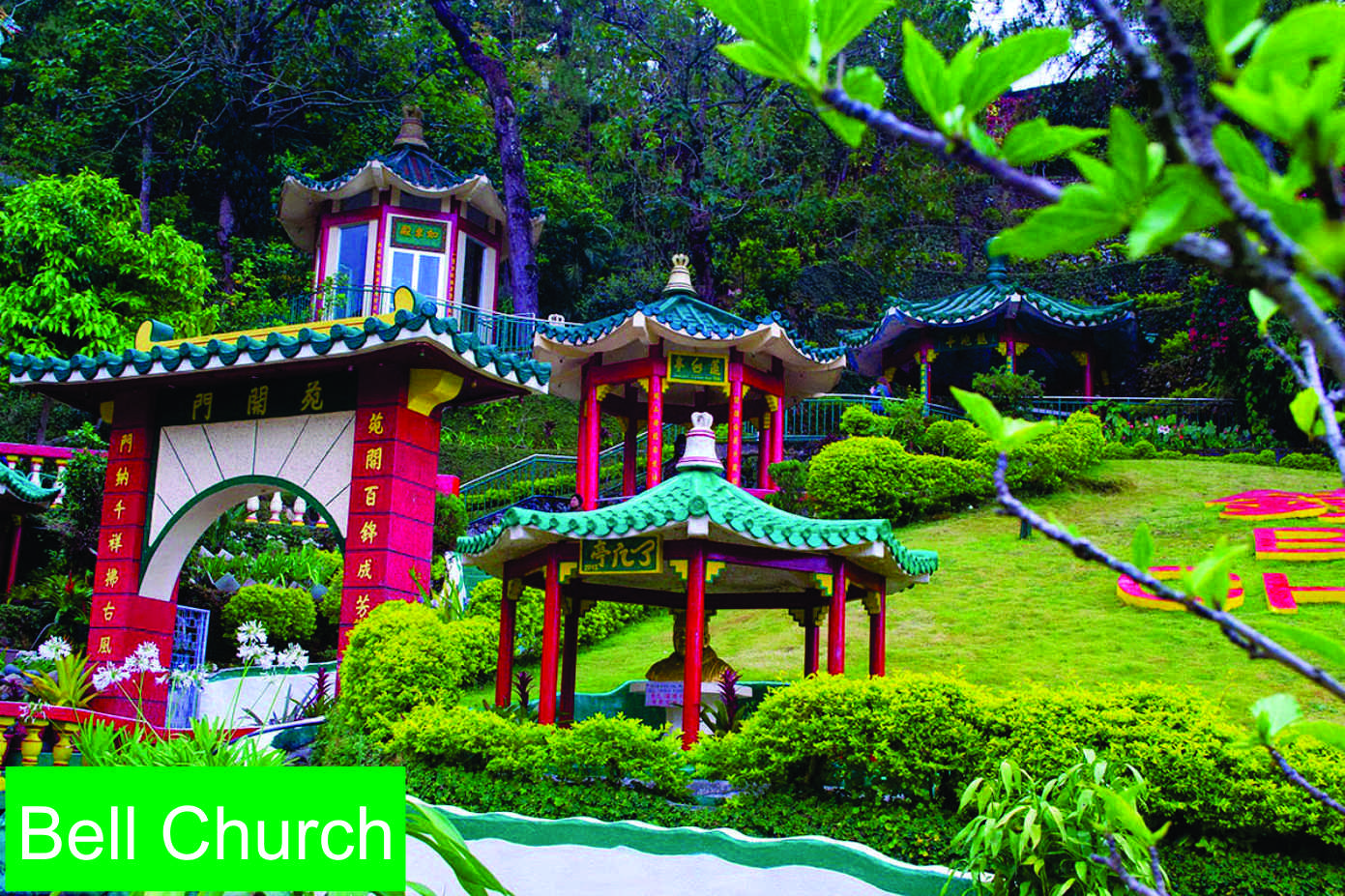 Baguio's Bell Church