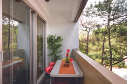 Baguio Transient Condo balcony