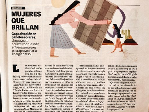 Mujeres que brillan @Revista Viva, Clarín