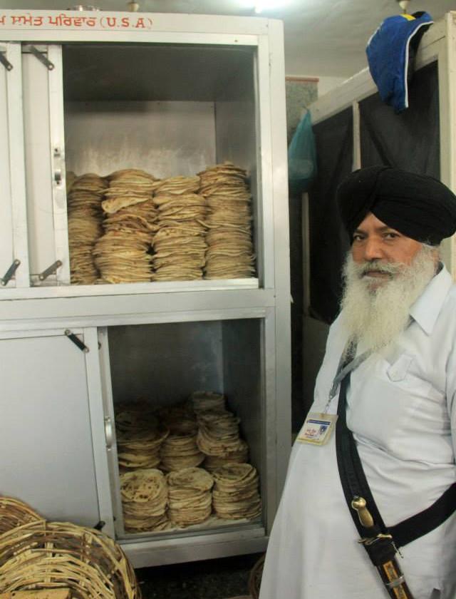 cocinas, golden temple, gratis, amritsar, punjab, sikh, roti