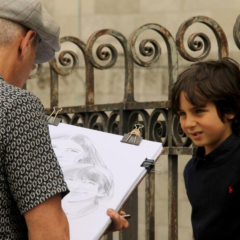 Paris, viajar, europa, reflexiones, oleo fresco, artistas, retrato, jessica oyarbide
