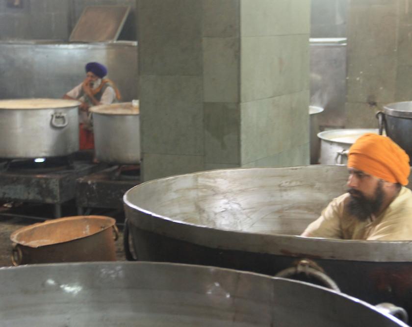 cocinas, golden temple, gratis, amritsar, punjab, sikh, chai