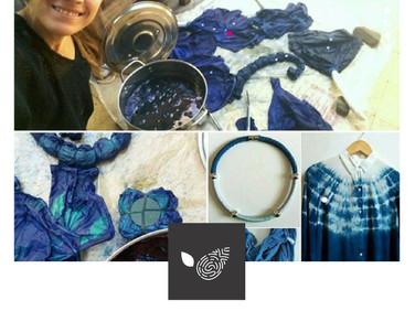 MALALA RUIZ: Arte textil, sustentable, social y solidario