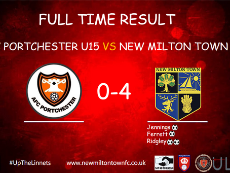 UNDER 15 GIRLS PROGRESS TO THE SEMI FINALS OF THE HAMPSHIRE CUP.
