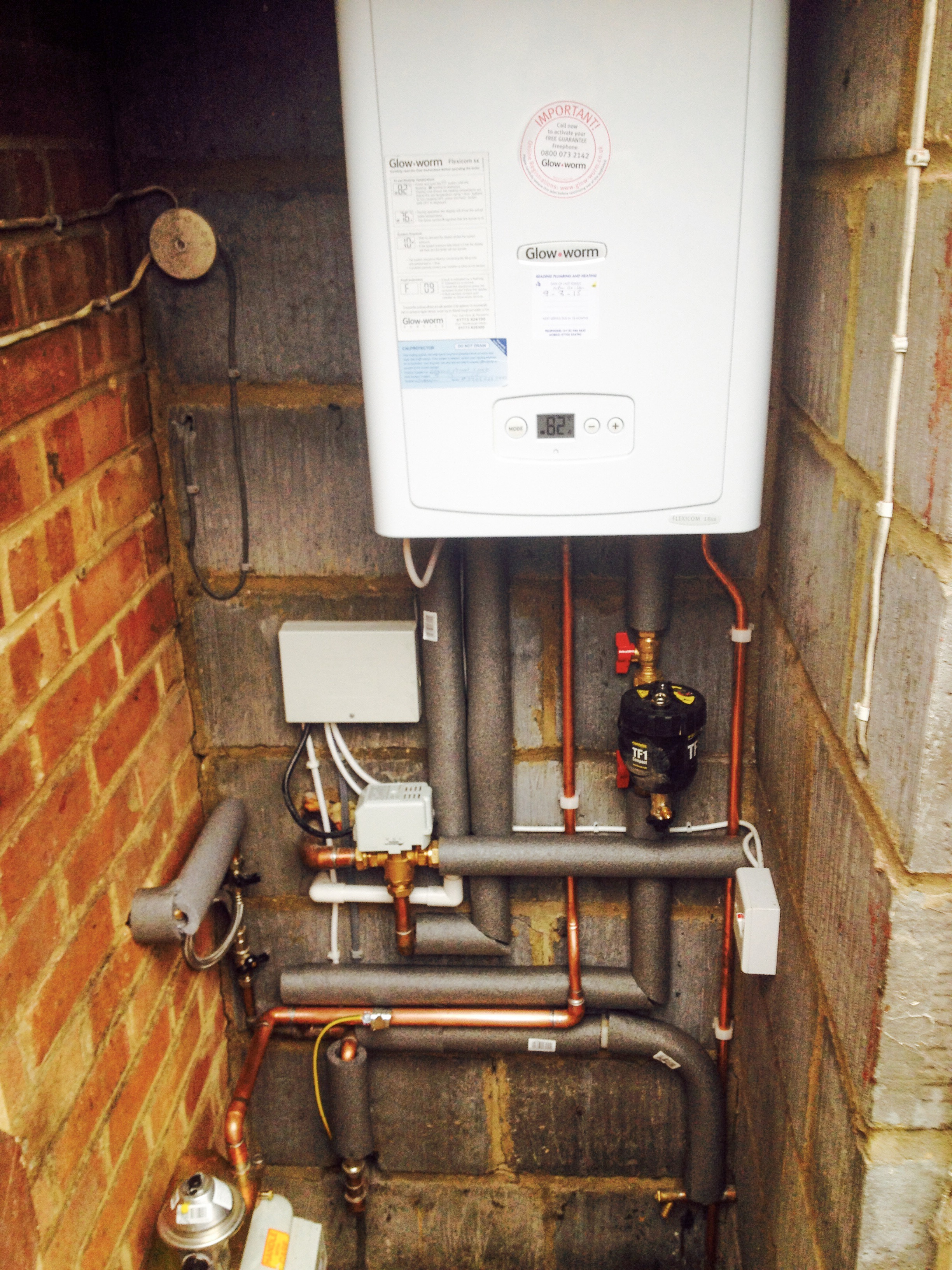 Reading Plumbing and Heating