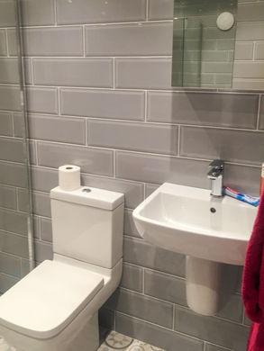 Full new bathroom