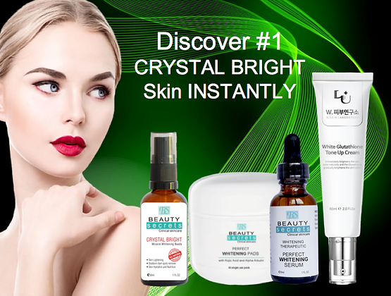CRYSTAL BRIGHT Skin Set