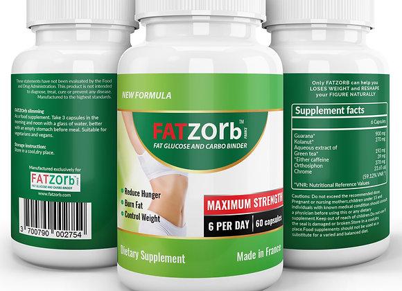 Fatzorb capsules (Buy 3 Get 1 FREE)