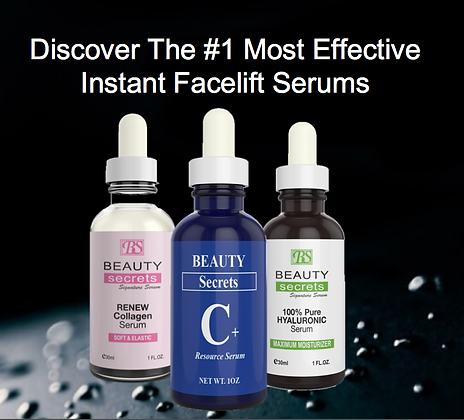 Instant Facelift Serums