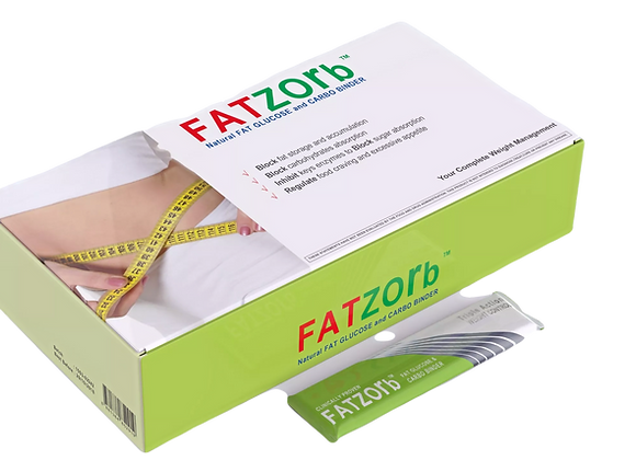 FATZORB (50 sachets) FREE FATZORB (60 capsules)