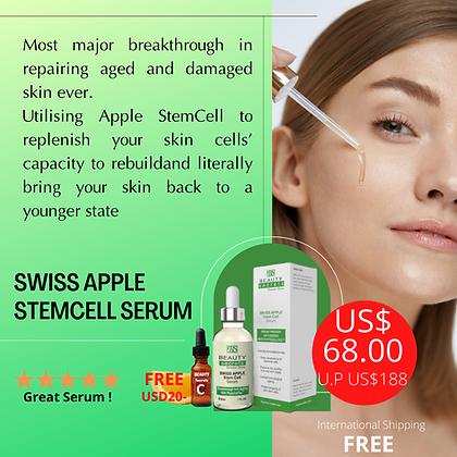 Swiss Apple Stem Cell + VC (3ml) FREE