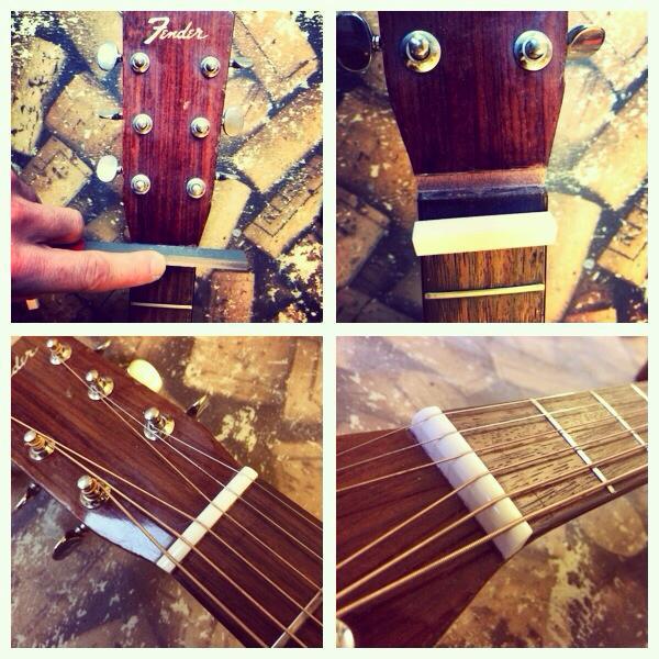 Vintage Fender acoustic
