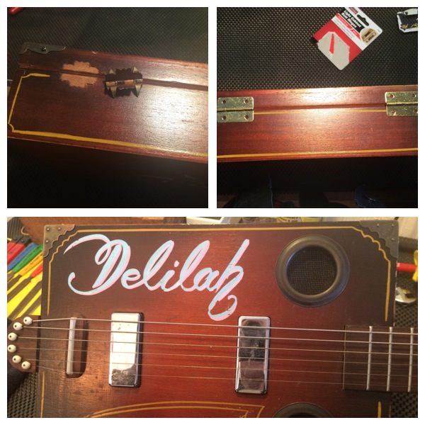 Mojo JuJus' Cigar Box Guitar