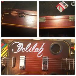 Mojo JuJus' Cigar Box Guitar