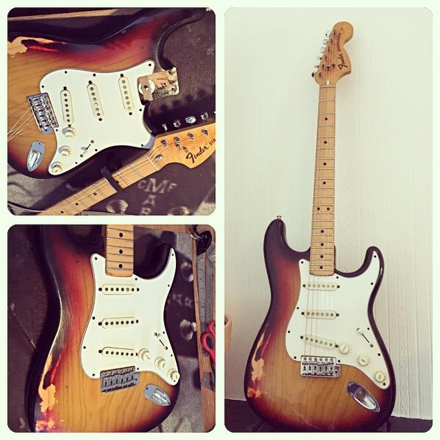 Vintage Stratocaster - fret dres & setup