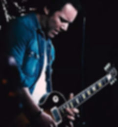Jeb Cardwell and his Gibson Les Paul