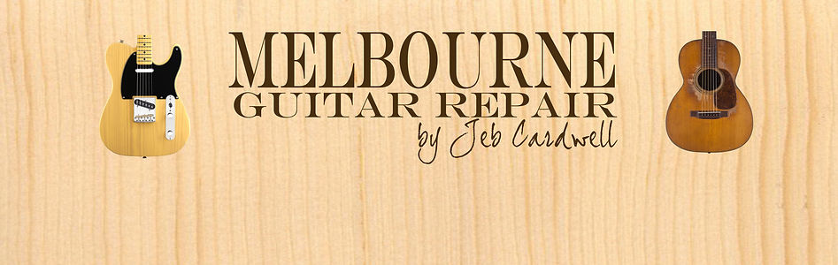 Melbourne Guitar Repair by Jeb Cardwell
