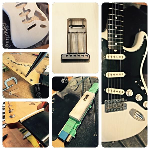 Stratocaster assembly