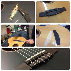 Acoustic bridge repair