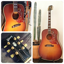 Basic service on a Gibson Hummingbird
