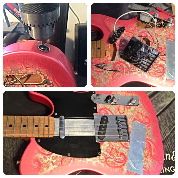 1986 Fender Paisley Telecaster