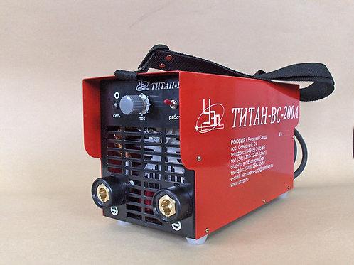 Сварочный аппарат «Титан-ВС» 200А