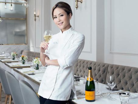 La chef Vicky Lau de Hong Kong lleva el feminismo a las cocinas