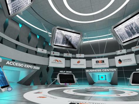 Nueva plataforma para ferias y exposiciones virtuales 3D