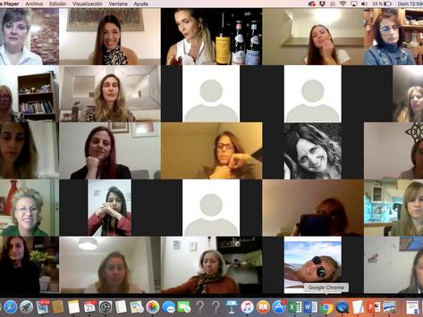 Cerca de 50 mujeres se encontraron en Reinas de Copas, espacio de Networking, Mujeres y Vinos