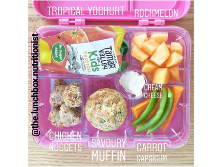How to pull a healthy lunchbox together in no time at all!