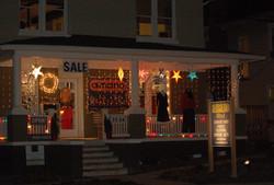 store at night