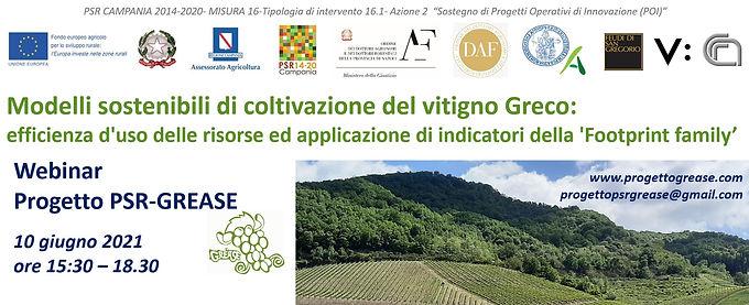 Webinar Progetto PSR-GREASE