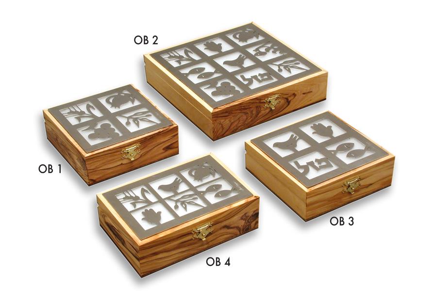 23.OLIVE WOOD BOX SEVEN SPECIES