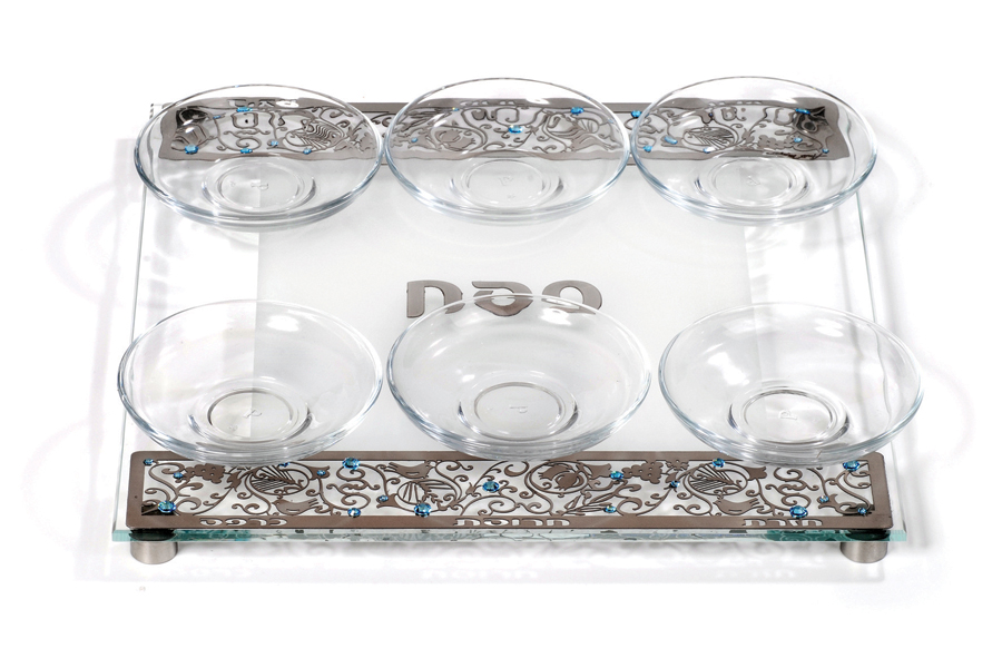 12.SQUARE PASSOVER PLATE